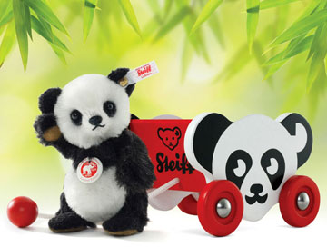 Mochi Mini Panda With Cart