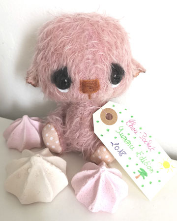 Chou Pocket Bear, Pink Edition