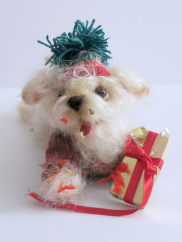 Christmas Surprise Puppy With Gift