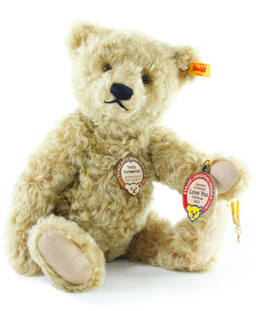 Teddy Companion With Personalized Medallion
