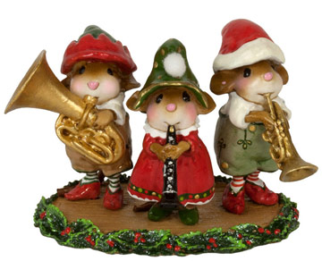 Oompah Band Elves M-653 by Wee Forest Folk