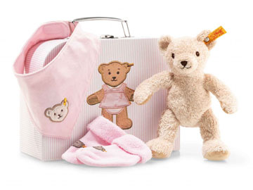 Gift Set Girl EAN 241222 by Steiff