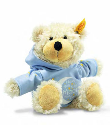 Charly Love You Dangling Teddy Bear With Hoody EAN 012334