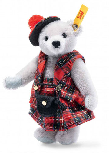Great Escapes Edinburgh Teddy Bear In Gift Box EAN 026911