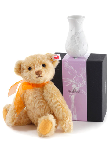 Sunflower Teddy Bear With Vase EAN 006753