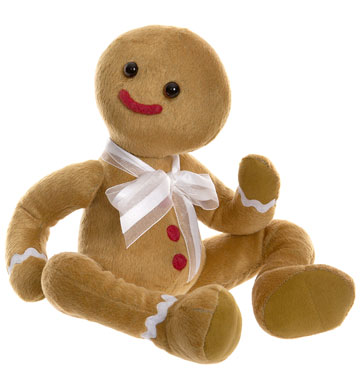 Dunk Gingerbread Man by Charlie Bears