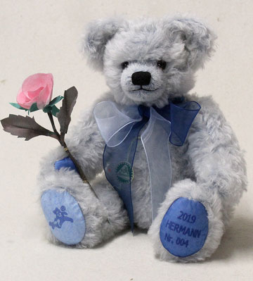 Hermann Annual 2019 Bear Reverie in Blue 15219-2