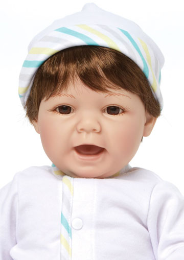 Sweet Baby With Brown Hair 76010 by Madame Alexander