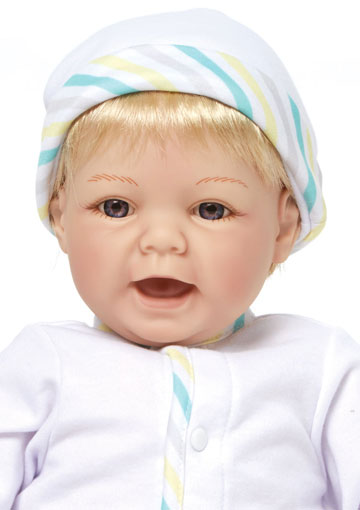 Sweet Baby With Blonde Hair 76005 by Madame Alexander