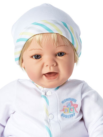 Sweet Baby With Blond Hair 76005 by Madame Alexander