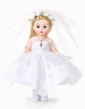 First Communion Blessings Blonde 75090