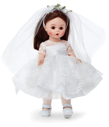 First Communion Blessings Brunette Light Skin Tone 75095