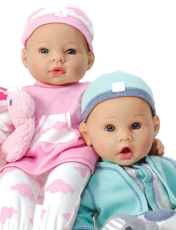 Newborn Twins 72855 by Madame Alexander