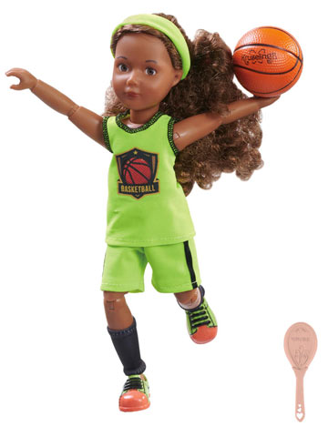 Joy Star Basketball Player Kruselings Doll