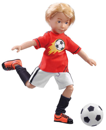Michael Soccer Ace Kruselings Doll