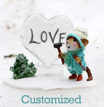 Custom Ice Love Sculpture M-418dCUS