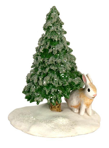 Snowy Tree And Bunny A-51
