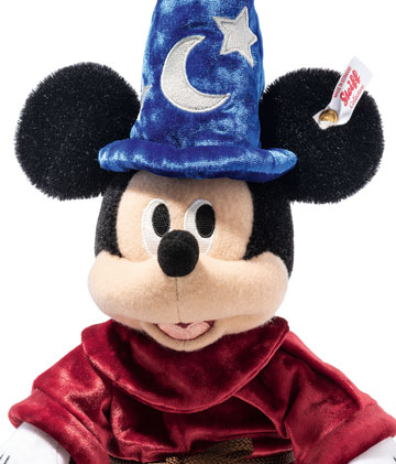 Disney Sorcerer's Apprentice Mickey Mouse 354397 by Steiff