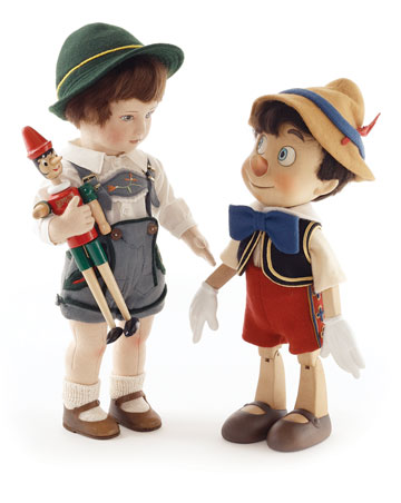 Max And His Pinocchio by R. John Wright