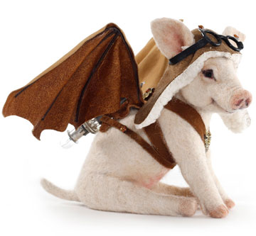 Steampunk Flying Pig