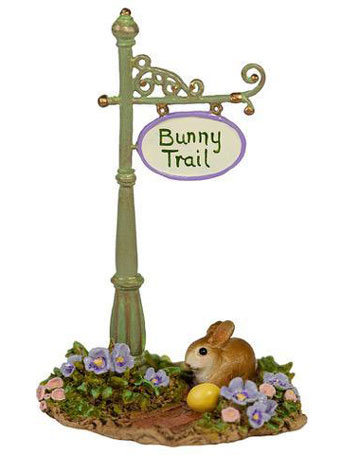 Bunny Trail Sign Post A-49c