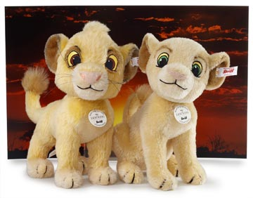 Steiff Lion King Background only at The Toy Shoppe