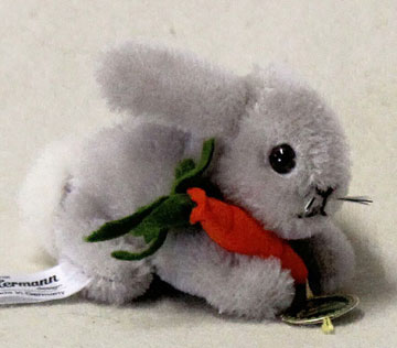 Hansi Miniature Bunny With Baby Carrot 22136-2