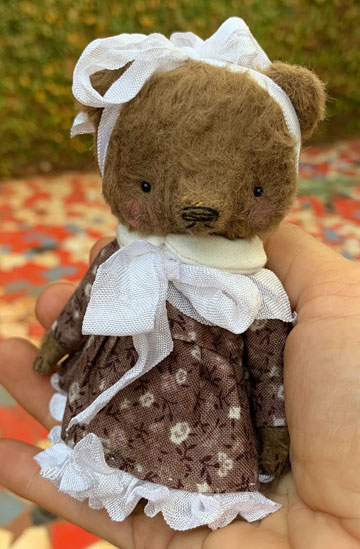 Bonnie Pocket-Sized Teddy Bear