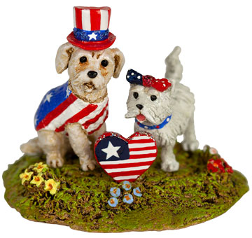 Patriotic Pets A-54 by Wee Forest Folk