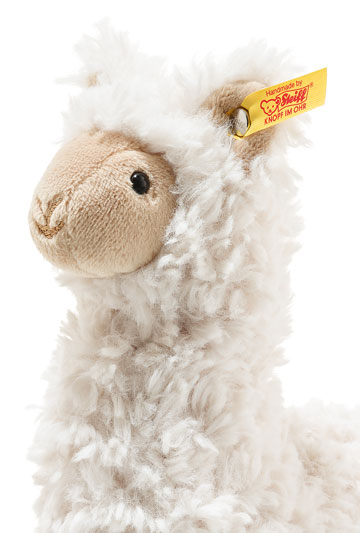 Leandro Llama, Small Soft Cuddly Friend EAN 069444 by Steiff