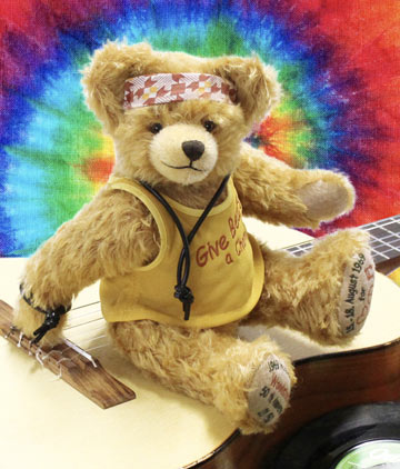 Woodstock 50th Anniversary Bear 1969-2019 19321-8