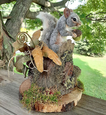 Stumpy Squirrel
