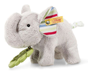 Wild Sweeties, Timmi Elephant With Teething Ring EAN 242021