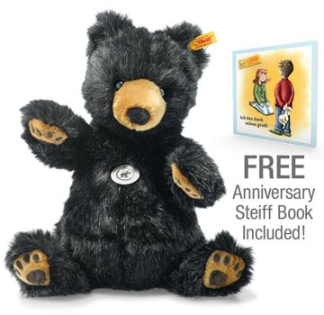 Josey Grizzly Bear With Free Book, 140 Anniversary EAN 113291