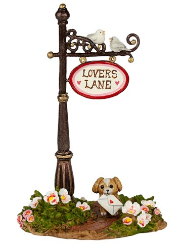 Lover's Lane Sign Post A-49d