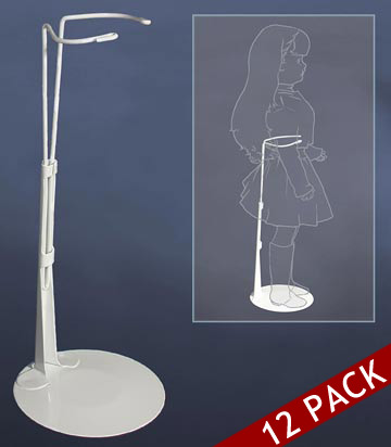 14 to 22 Inch Doll Stand 12pk