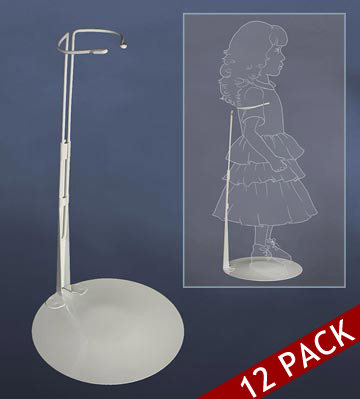 20 to 30 Inch Doll Stand 12pk