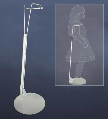 33 to 38 Inch Large Doll Stand