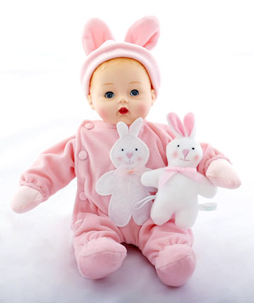 Pink Bunny My First Huggums 28960 by Madame Alexander