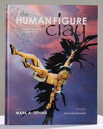 The Human Figure In Clay by Mark Dennis