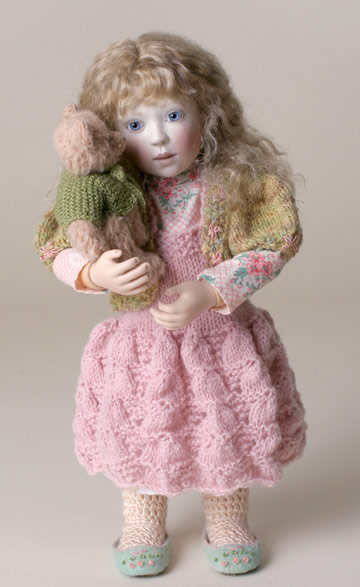Cosy Rose with Teddy by Lynne and Michael Roche