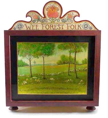 Display Box Red DB-R by Wee Forest Folk