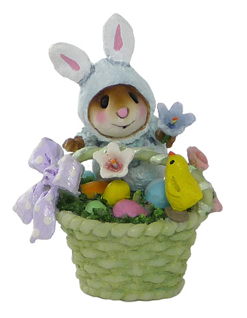 Wee Bunny's Basket TM-5 by Wee Forest Folk
