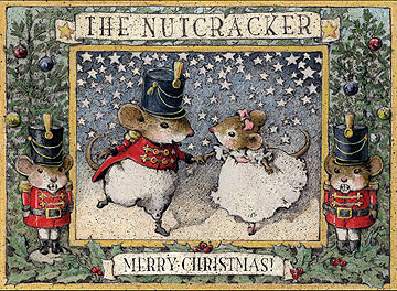 The Nutcracker Set of 12, Note Set 9 by Wee Forest Folk
