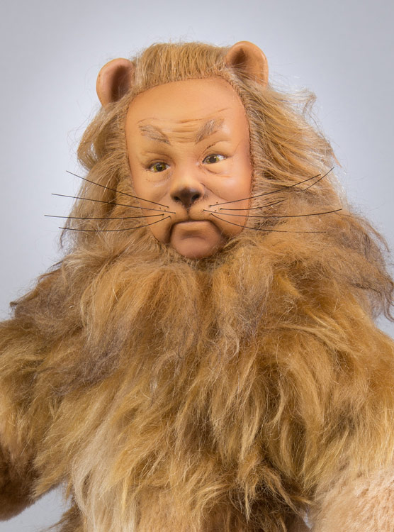 R John Wright Cowardly Lion Cloth Doll MGM Picture The Wizard Of Oz Lahr