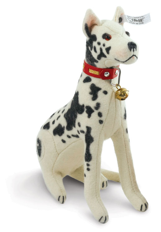 lord  great dane replica 1932 ean 403071 by steiff at the toy shoppe