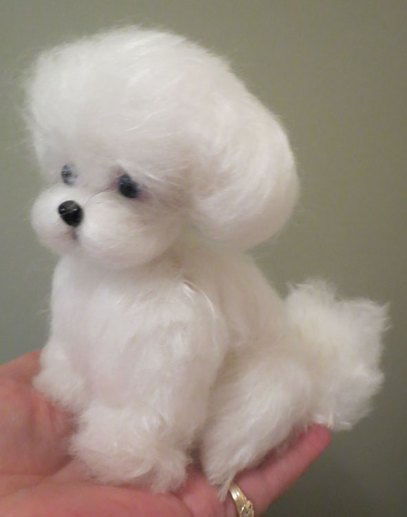 Maltese Puppy Cut by Designs By Karen at The Toy Shoppe