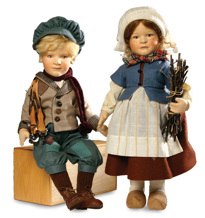 Hans and gretel brinker set by r john wright at the toy for Stand traditionnel