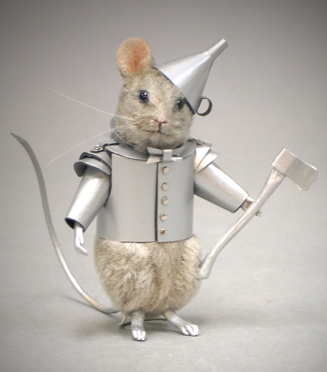 Tin Man Mouse by R. John Wright