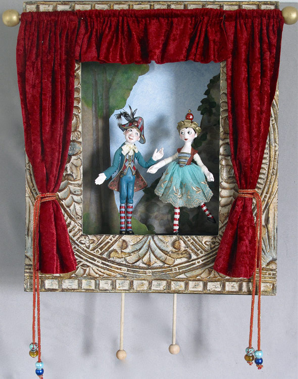 Puppet Theatre by Lucia Friedericy, Friedericy Dolls